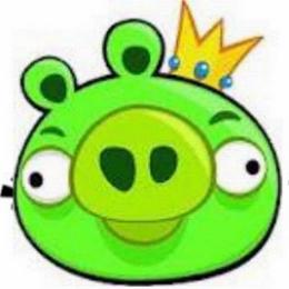 A tolvaj zöld malac Angry Birds játék