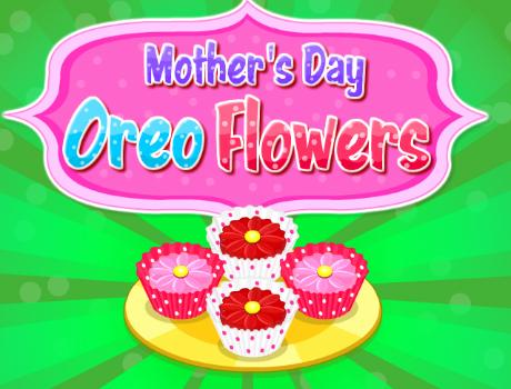 Anyák napi virágos sütemény főzős játék