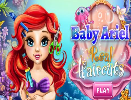 Baby Ariel fodrászos játék
