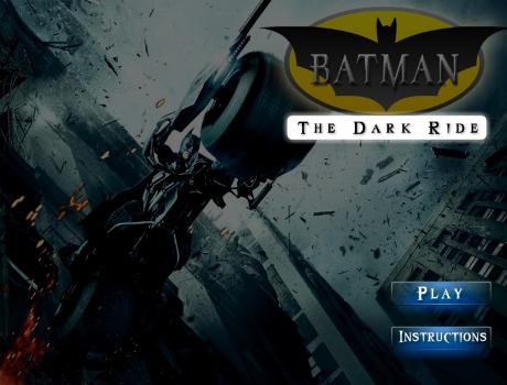 Batman szuper motoros játék