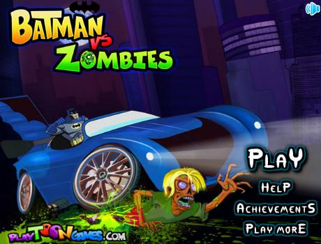 Batman Vs. Zombies autós játék