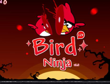 Bird Ninja Angry Birds játék