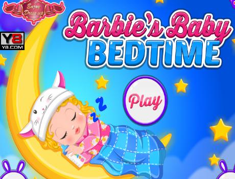 Baby altatás Barbie játék