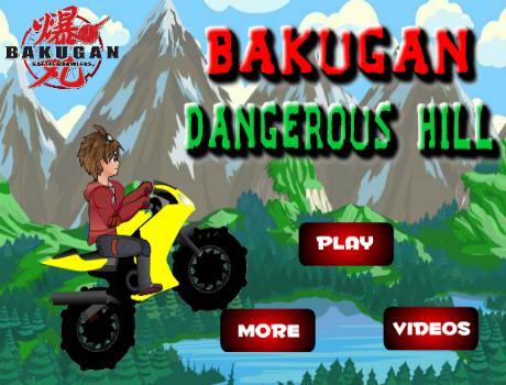Bakugan Dangerous Hill motoros játék