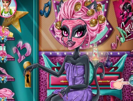 Catty Noir ápolós Monster high játék