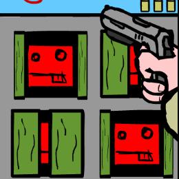 Cél lövölde lövöldözős játék
