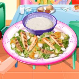 cézár saláta főzős játék