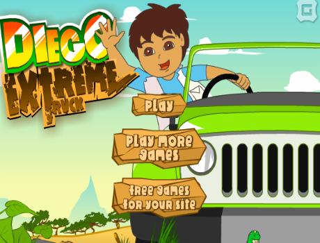 Diego Extreme Truck autós játék