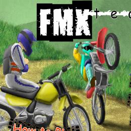 FMX team motoros játék