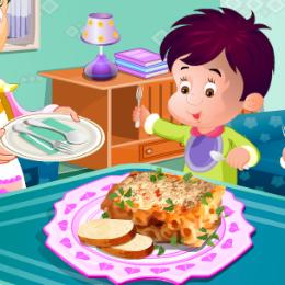 Finom ételek főzős játék
