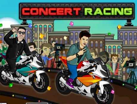 Gangnam Style Racing motoros játék
