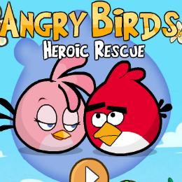 Heroic Rescue Angry Birds játék