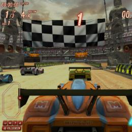 Homokos autó verseny autós játék