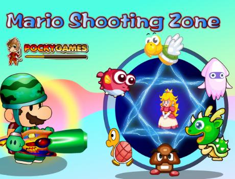 Mario lövöldözős játék