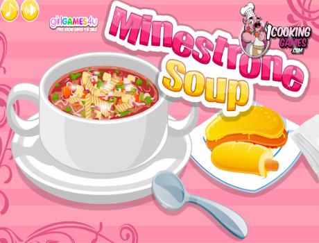 Minestrone Soup főzős játék