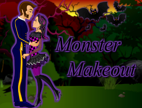 Monster Makeout öltöztetős Monster high játék