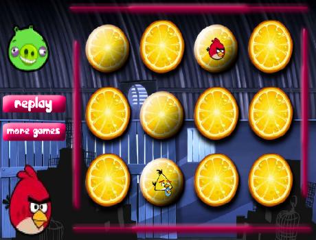 Mega memória Angry Birds játék
