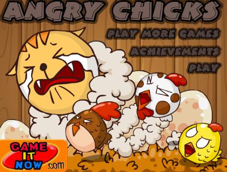 Mérges csirkék Angry Birds játék