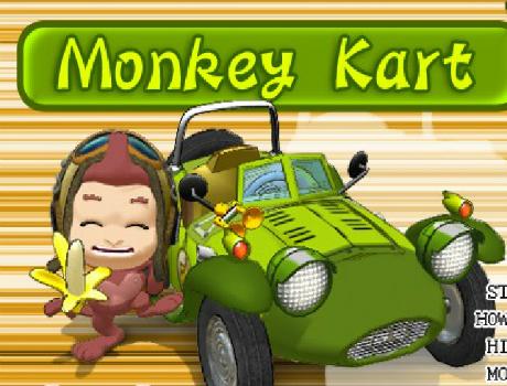Monkey autós játék