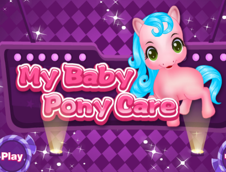 My Baby Pony Care lovas játék