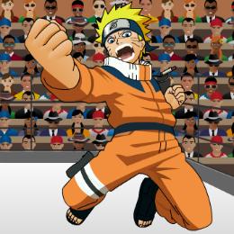 Naruto szuper jó verekedős játék