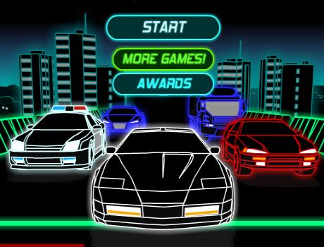 Neon Race autós játék