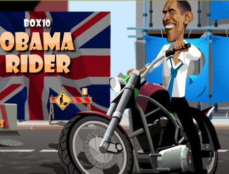 Obama késésben motoros játék