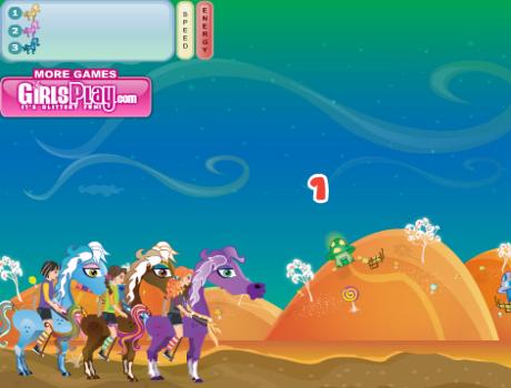 Pony Racing lovas játék