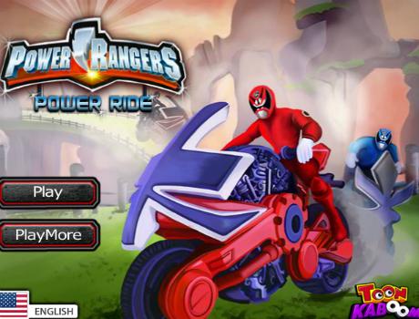 Power Rangers Power Ride motoros játék