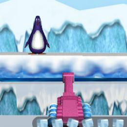 Pingvin támadás lövöldözős játék