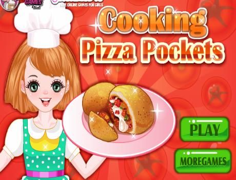 Pizzás gombóc főzős játék