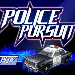 Police Pursuit autós játék