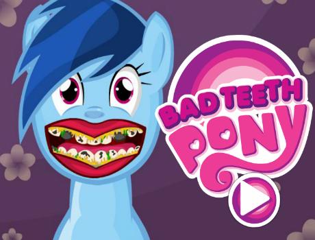 Póni fogászat lovas játék