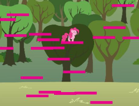 Pony ugrás lovas játék