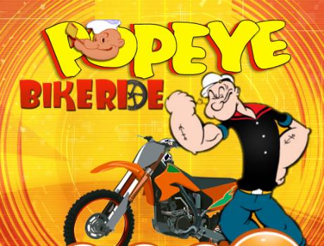 Popeye Bikeride motoros játék
