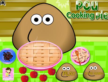 Pou konyhája főzős játék