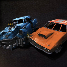 Roncsderbi autós játék