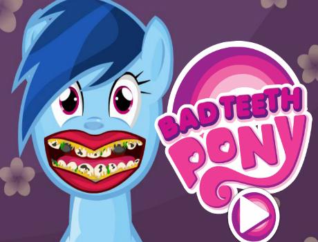 Rossz fogak lovas játék