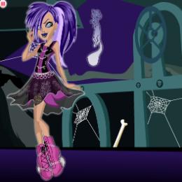 Spectra öltöztetős Monster high játék