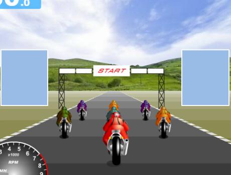 Szuper jó gyorsasági verseny motoros játék