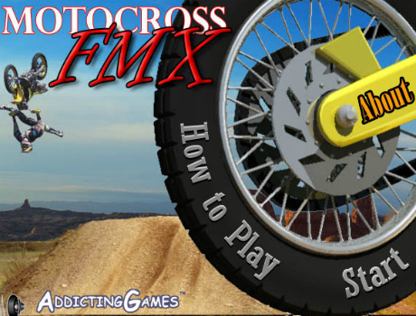Szuper jó motocross trükkök motoros játék