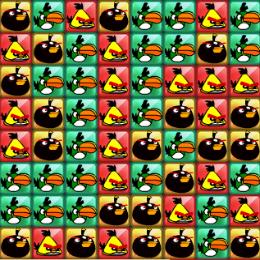 Szuper jó puzzle Angry Birds játék