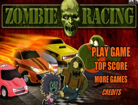 Szuper Zombie Racing autós játék