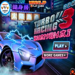 turbó Racing 3 autós játék