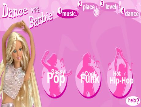 Táncolós Barbie játék