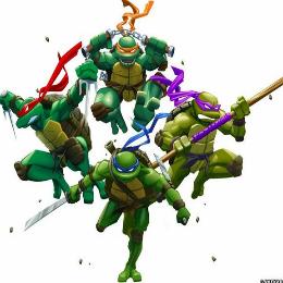 Tininidzsa teknősök harca verekedős játék
