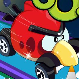Űr futam Angry Birds játék