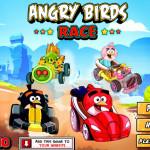 Autó verseny Angry Birds játék