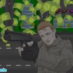 Banki védelem lövöldözős játék