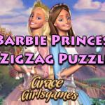 Kirakós ügyességi Barbie játék